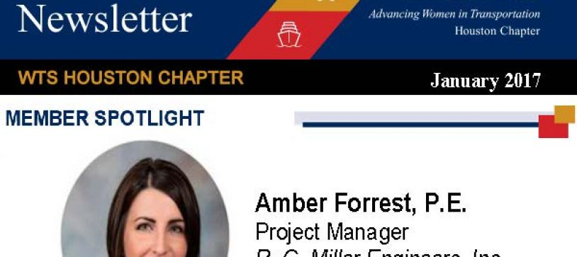 January 2017 WTS Member Spotlight – Amber Forrest, P.E.