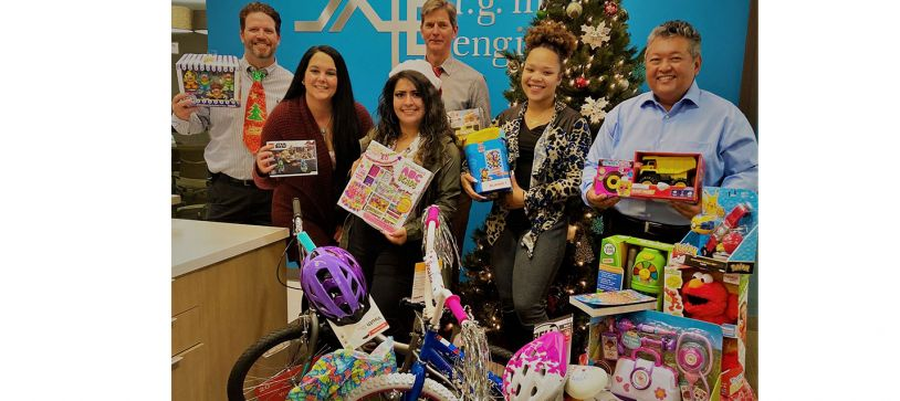 Tis the Season: RGME and Employees come together to support the Ft. Bend Rainbow Room Children's Christmas Project 2020
