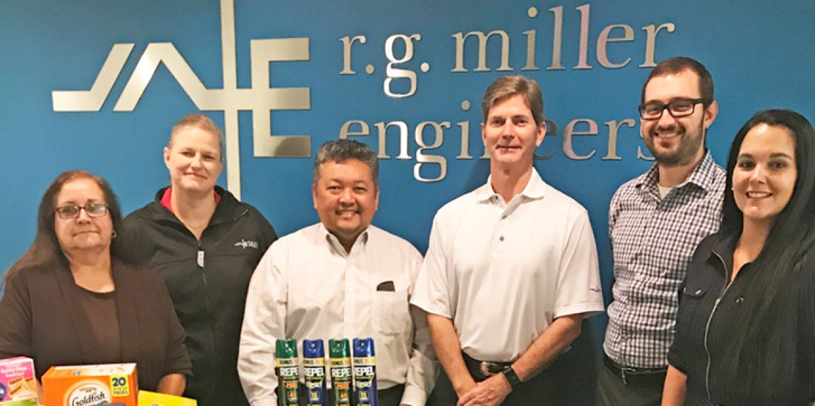 R. G. Miller Engineers Responds to Hurricane Harvey Relief Efforts