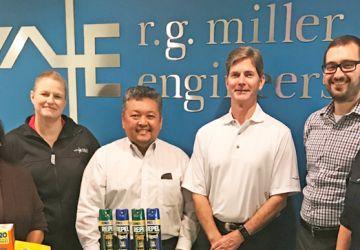 R. G. Miller Engineers Responds to Hurricane Harvey Relief Efforts