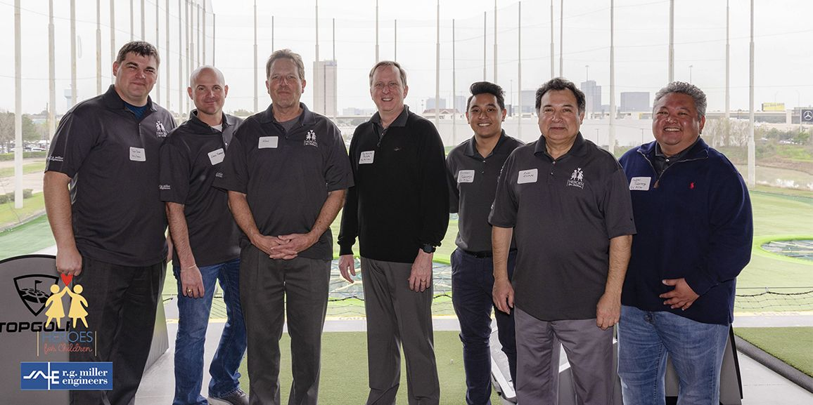 R. G. MILLER ENGINEERS' sponsored charity, heroes for children, raises over $31,000 for families with children fighting cancer at its topgolf tournament