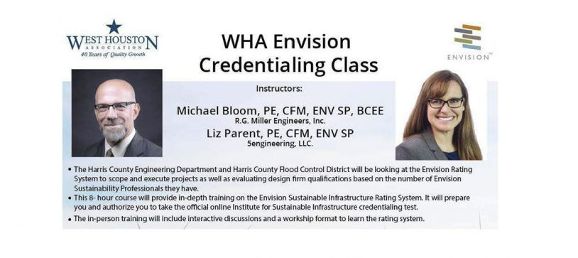 RGME Hosts The West Houston Association's  2nd Envision Credentialing Class on September 12th