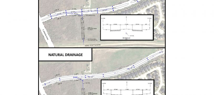 Low Impact Development Design Evaluation for Bellaire Blvd Improvements