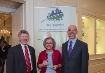 Katy Prairie Conservancy President/CEO Honored by Bayou Preservation Association with Terry Hershey Bayou Stewardship Award