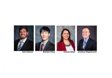 Four R. G. Miller Employees Pass the P.E. Exam