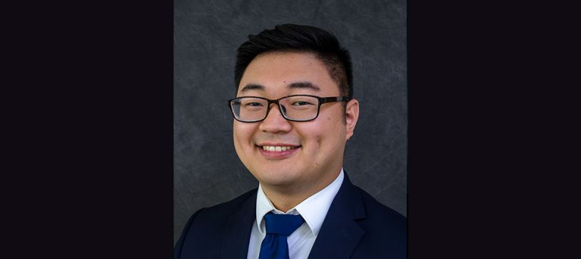 Mengyang (Robbie) Jiang Earns P.E. Designation