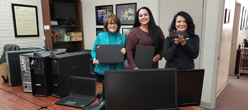 R.G. Miller Engineers Donates Computers to Local Non-Profit in Fort Bend County