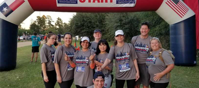 RGME Participates in the City's First Inaugural Houston Corporate 5K