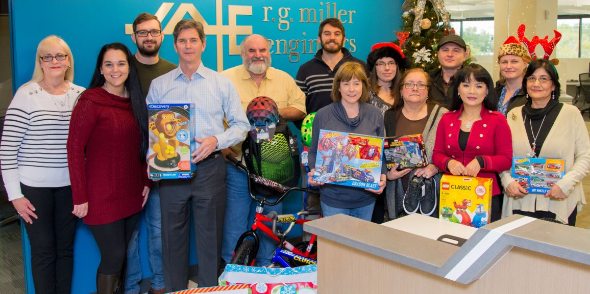 RGME Supports the Fort Bend Rainbow Room Annual Christmas Project