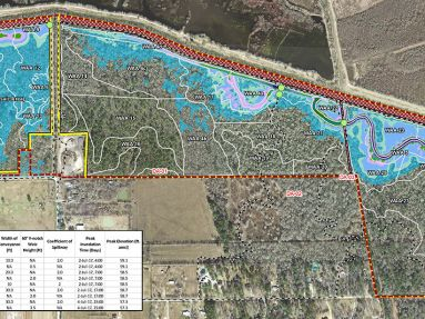 Planning, Design, and Envision Verification of Crosby-Eastgate Wetlands Mitigation Bank, Harris County Flood Control District, Harris County, Precinct 2, Harris County, Texas