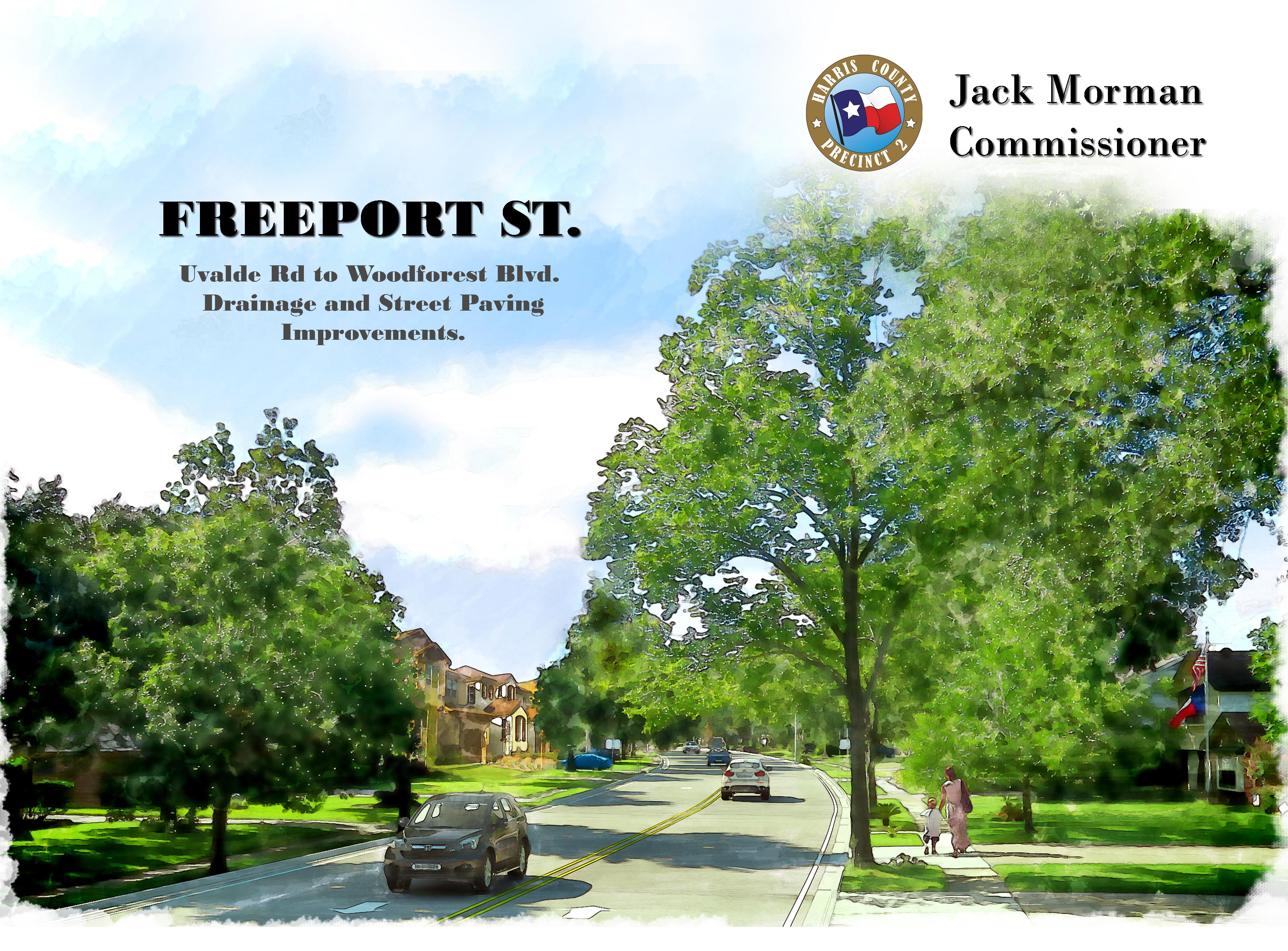 Freeport Street, Phase I