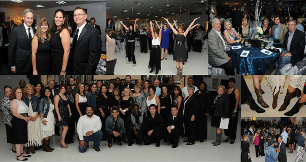 RGME attends the Black & White Ball in support of Precinct2gether
