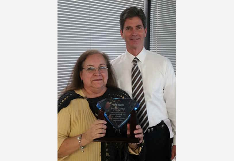 Staff Members Recognized with Service Awards