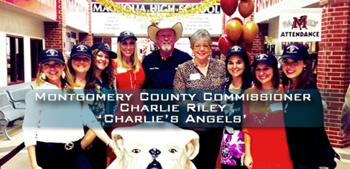 A Show of Support to Commissioner Riley of Montgomery County Precinct 2