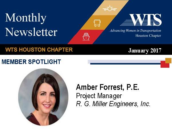 January 2017 WTS Member Spotlight – Amber Forrest, P.E.
