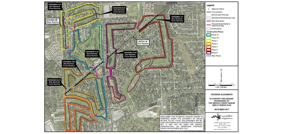 R.G. Miller Engineers Design Inwood Forest Detention Basins