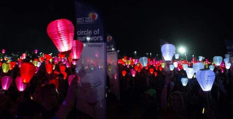 RGME shows support for the 2018 Leukemia & Lymphoma Society's Light the Night Walk – Montgomery County, TX