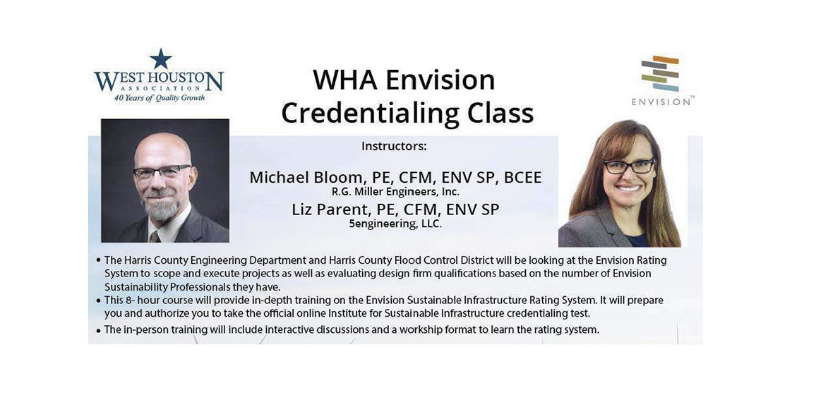 RGME Hosts The West Houston Association's  2nd Envision Credentialing Class on September 30th