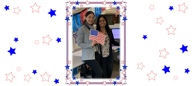 R. G. Miller Engineers Congratulates Our Two New U.S. Citizens