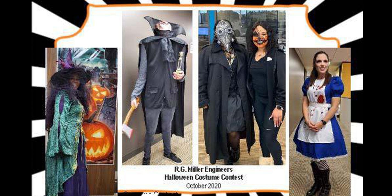 RGME Employees Enjoy Halloween Festivities